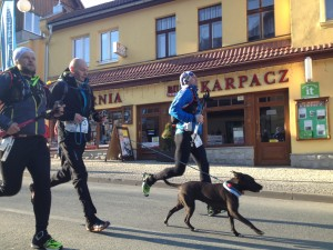 Zimowy Ultramaraton Karkonoski - finisz
