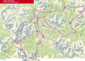 Lavaredo Ultra Trail - mapa trasy