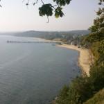 Trail Running Klify  Redłowo - widok na molo