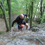 Trail Running jedna z górek na redłowskich klifach