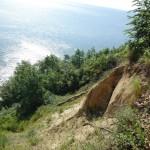 widok z klifów na zatokę gdańską