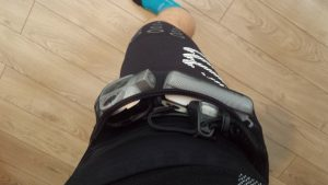 compressport trail short v2 kieszonki petzl nao