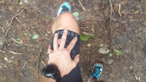 Compressport trail short v2 silikonowe wstawki na udach