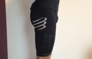 compressport trail short v2 logo